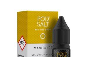 Mango Ice Nic Salt E-Liquid by Pod Salt Review
